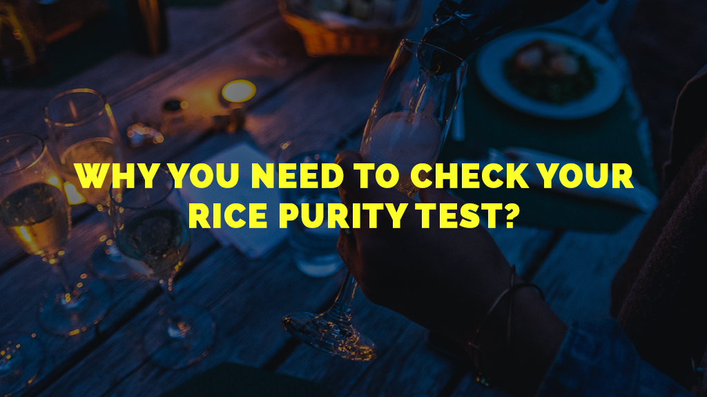 Check your Rice Purity Test